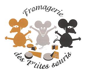 Fromageries 3 p'tites souris logo